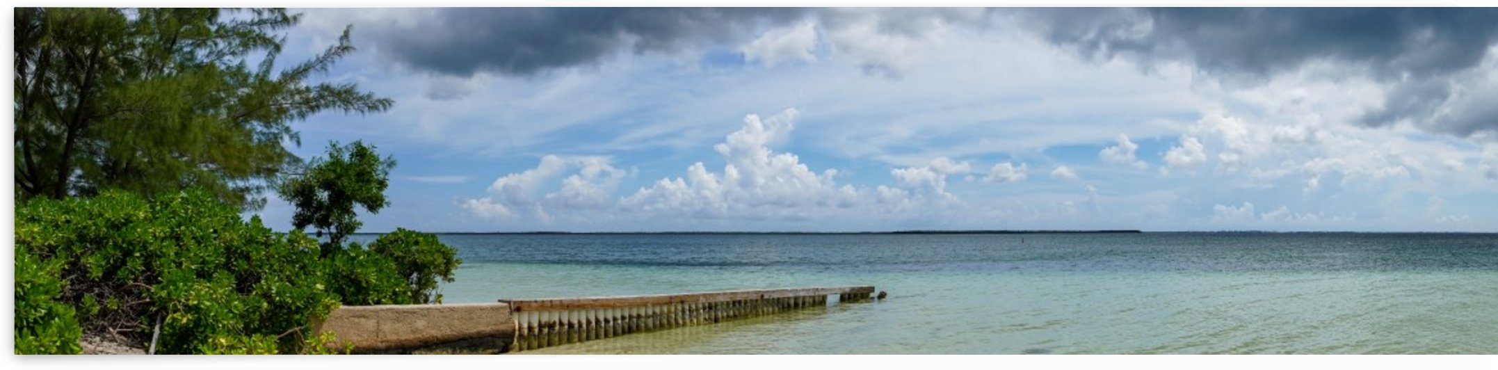 View of Georgetown from Starfish Point in Grand Cayman 2 by tommikee