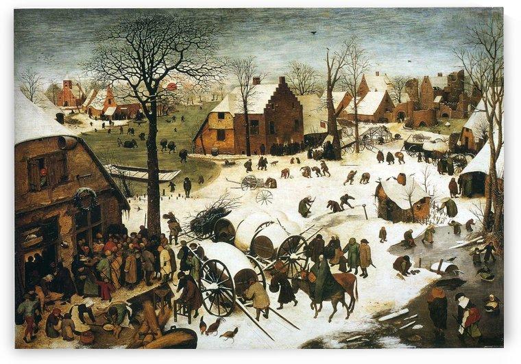 Census at Bethlehem by Pieter Brueghel the Elder