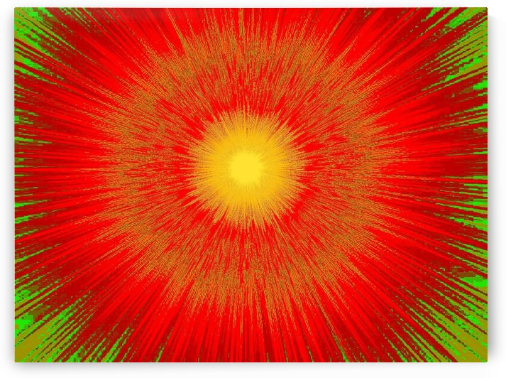 Abstract Sun 36 by Sherrie Larch