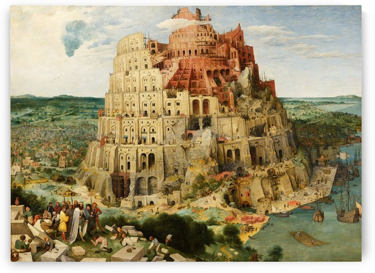The Tower of Babel by Pieter Brueghel the Elder