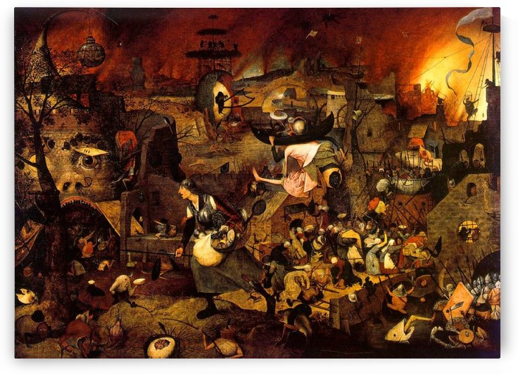 Mad meg by Pieter Brueghel the Elder