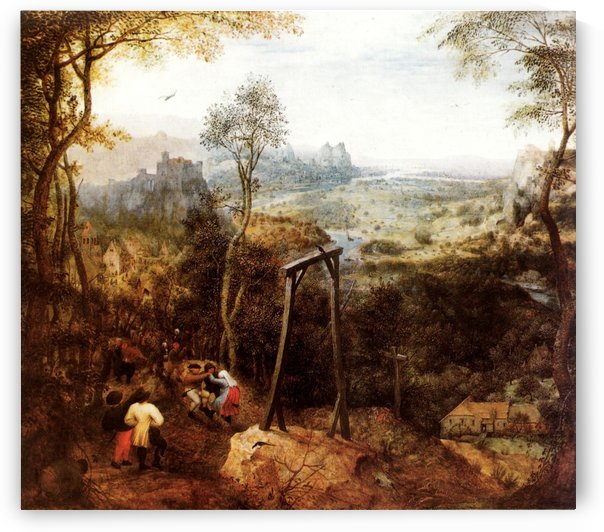 The Magpie on the Gallows by Pieter Brueghel the Elder