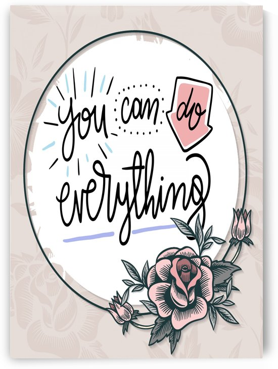 You Can do everything by Gunawan Rb