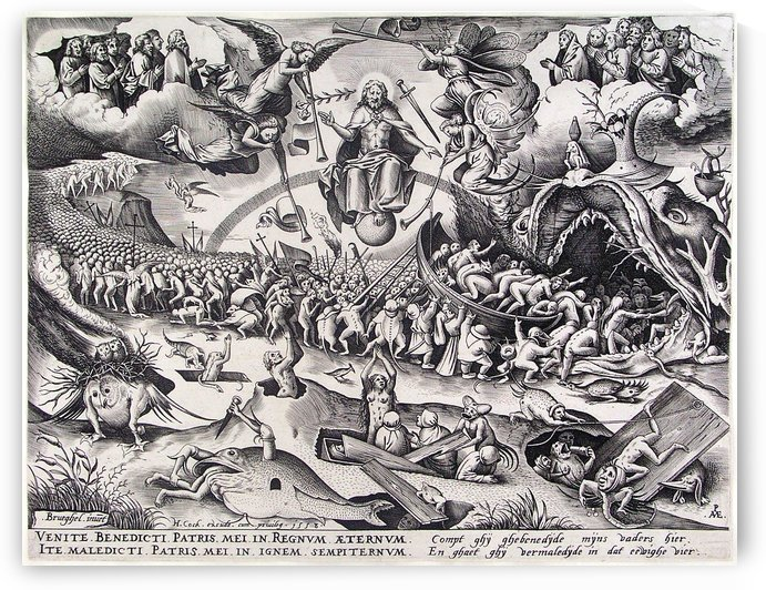 Last Judgment by Pieter Brueghel the Elder