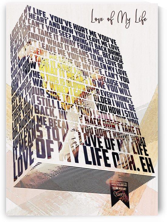 Love Of My Life   lyrics Box by Gunawan Rb