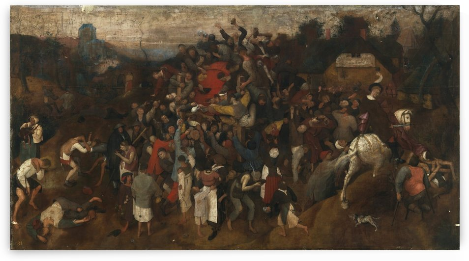 The Wine of Saint Martin's Day by Pieter Brueghel the Elder