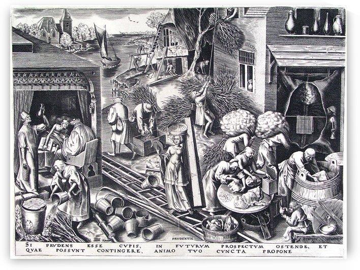 Prudence by Pieter Brueghel the Elder