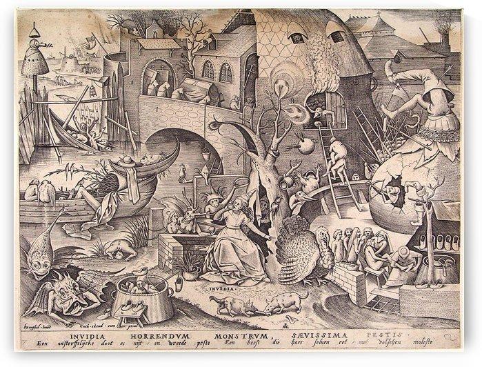 Envy by Pieter Brueghel the Elder