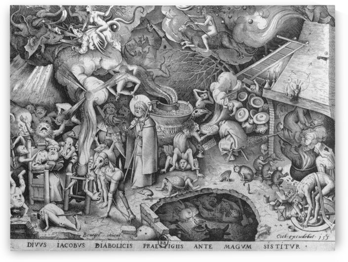 St James the Greater at Hermogenes by Pieter Brueghel the Elder