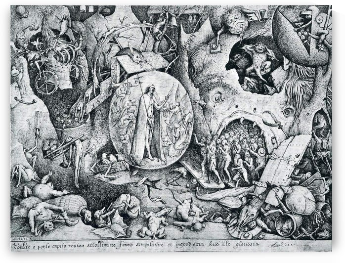 Jesus visiting Hell by Pieter Brueghel the Elder