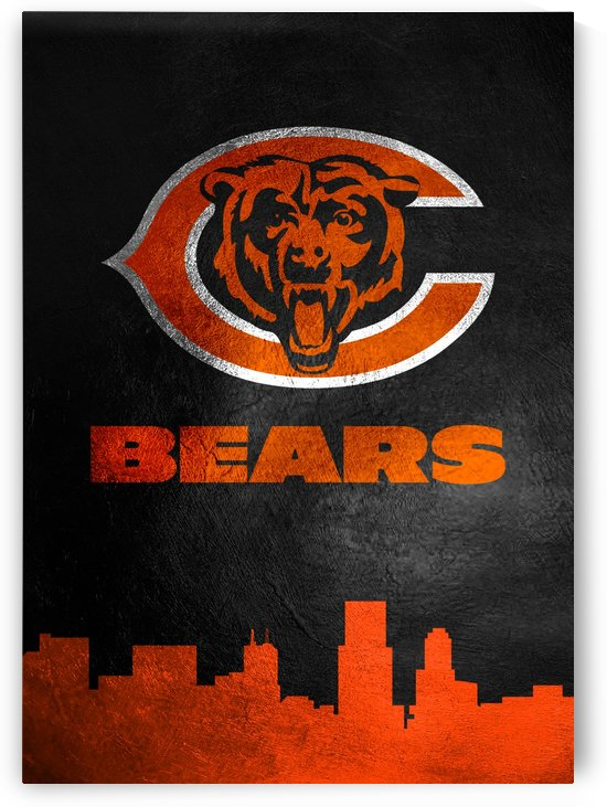 Chicago Bears Skyline by ABConcepts