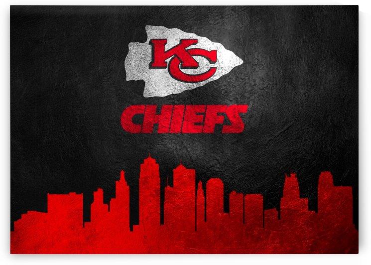Kansas City Chiefs Skyline by ABConcepts