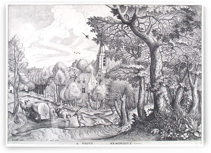Wooded Region by Pieter Brueghel the Elder