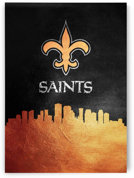 New Orleans Saints Skyline by ABConcepts