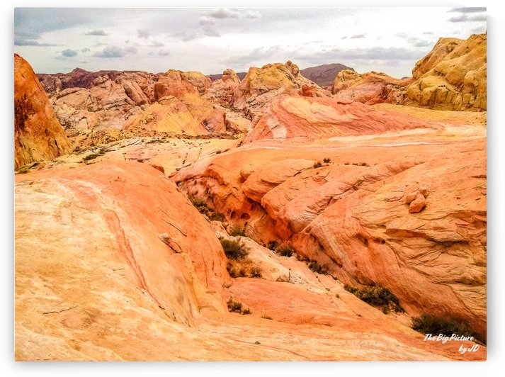 Valley Of Fire 7 by The Big Picture by JD