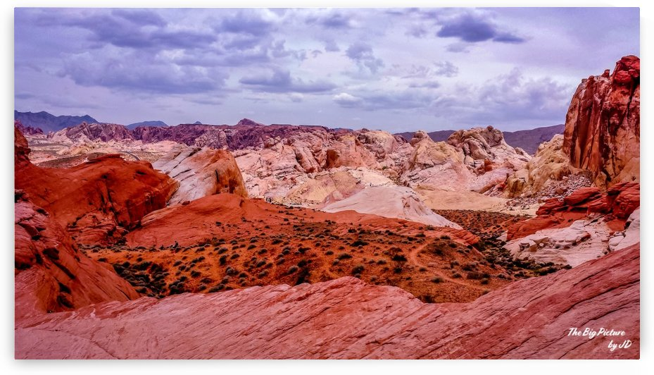 Valley Of Fire 3 by The Big Picture by JD