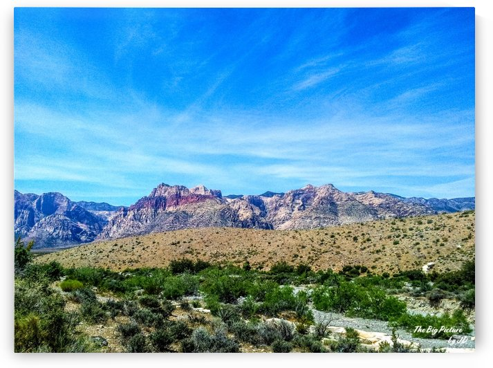 Red Rock Canyon Las Vegas by The Big Picture by JD