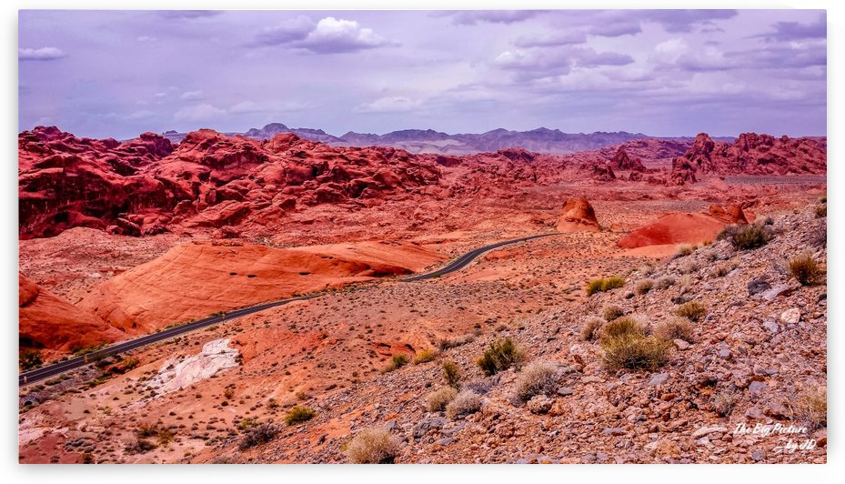 Valley Of Fire 5 by The Big Picture by JD