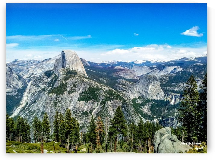 Glacier Point Yosemite Half Dome Vernal and Nevada Falls by The Big Picture by JD