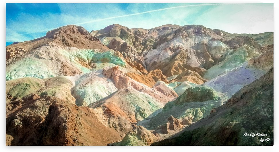 Artists Palette Death Valley by The Big Picture by JD
