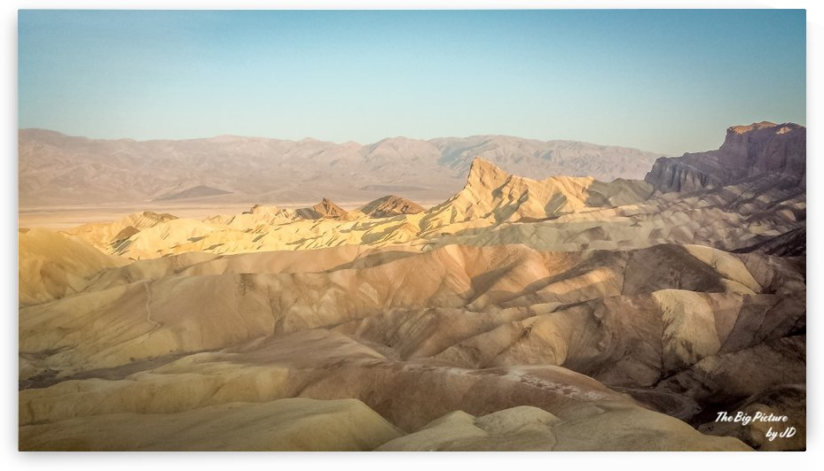 Zabriskie Point Manly Beacon Death Valley by The Big Picture by JD