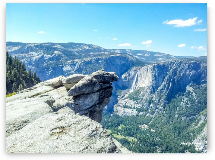 Glacier Point Yosemite Falls by The Big Picture by JD