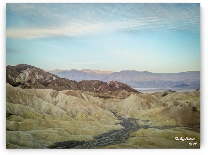 Zabriskie Point Death Valley by The Big Picture by JD