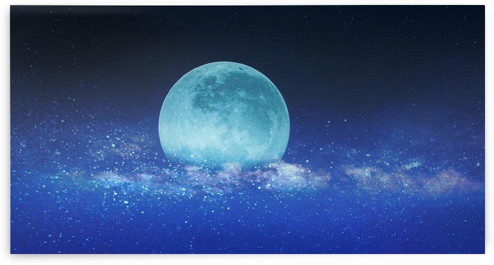 Moon by Devenald Sharma