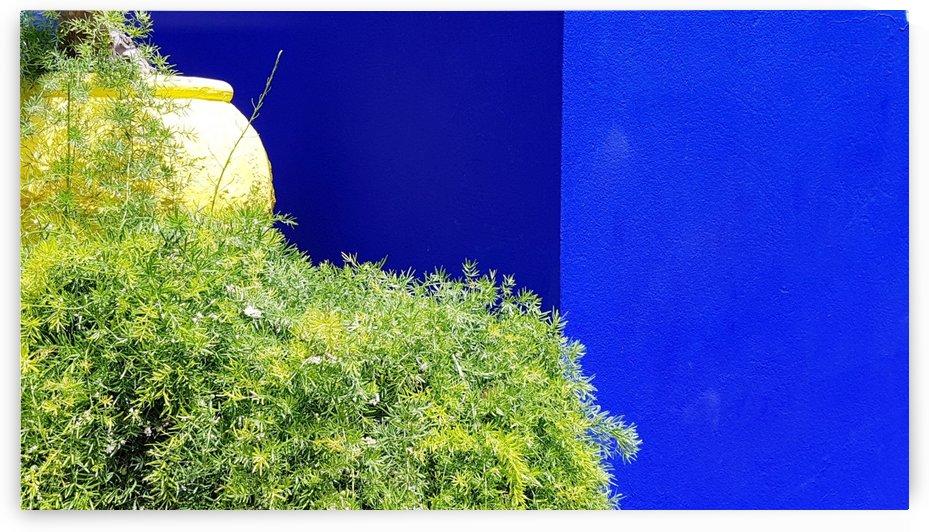 Marrakech on Blue Majorelle by Locspics