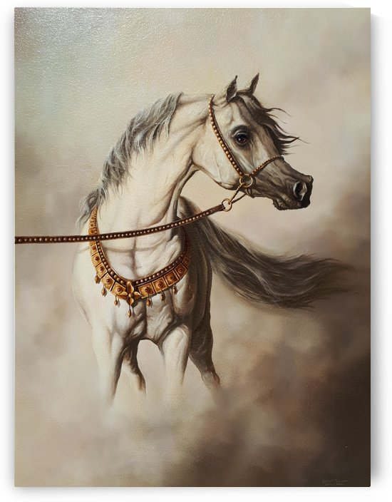 WHITE HORSE      by Robert Zietara