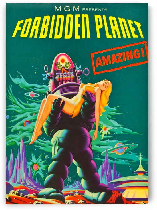 Forbidden Planet - Space Travel by Culturio