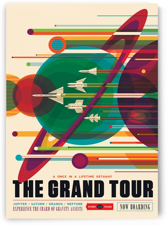 The Grand Tour - Space Travel by Culturio