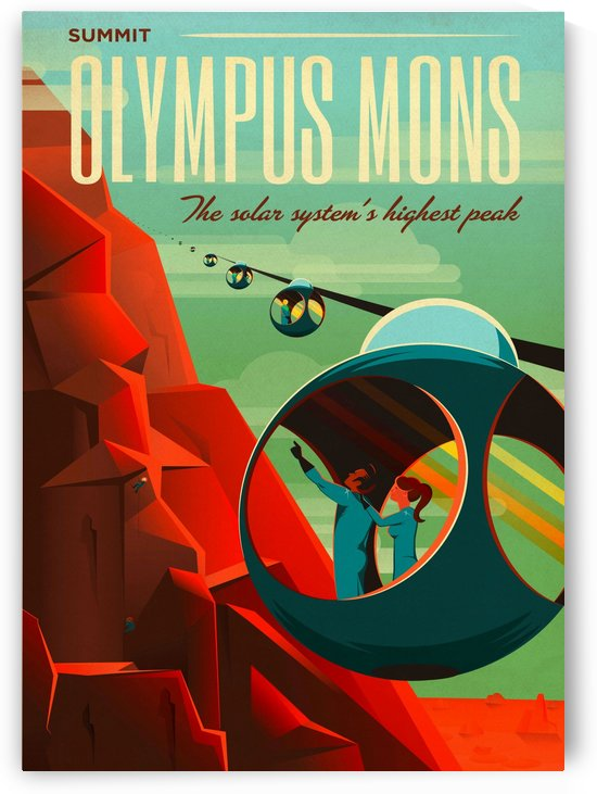 Olympus Mons - Space Travel by Culturio