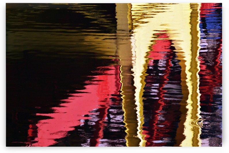 Reflection of a bridge #1 by Rizal Ghazali