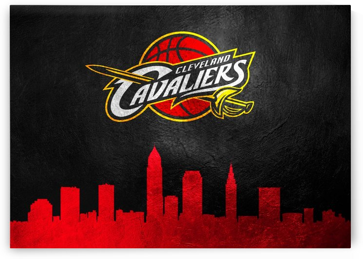 Cleveland Cavaliers Skyline by ABConcepts