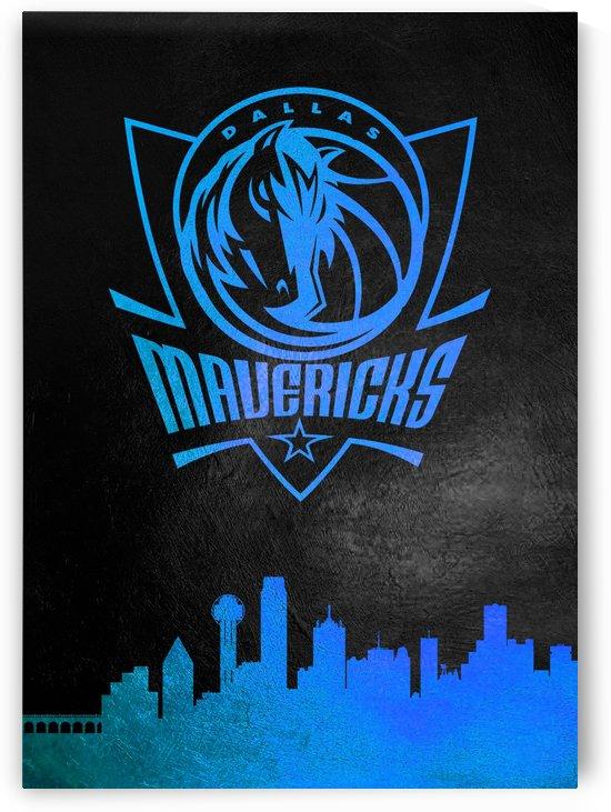 Dallas Mavericks Skyline by ABConcepts