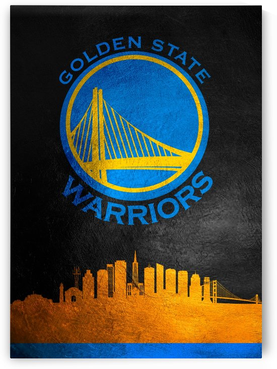 Golden State Warriors Skyline by ABConcepts