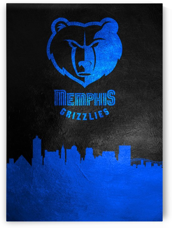 Memphis Grizzlies Skyline by ABConcepts