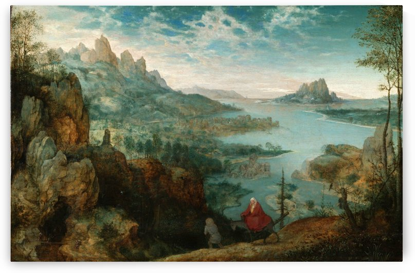 Landscape With The Flight Into Egypt by Pieter Brueghel the Elder