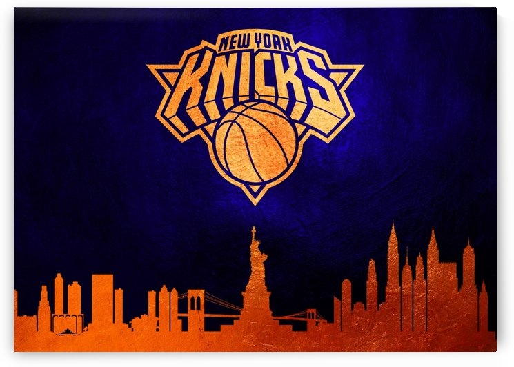 New York Knicks Skyline by ABConcepts