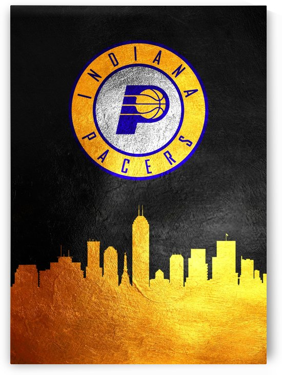 Indiana Pacers Skyline by ABConcepts
