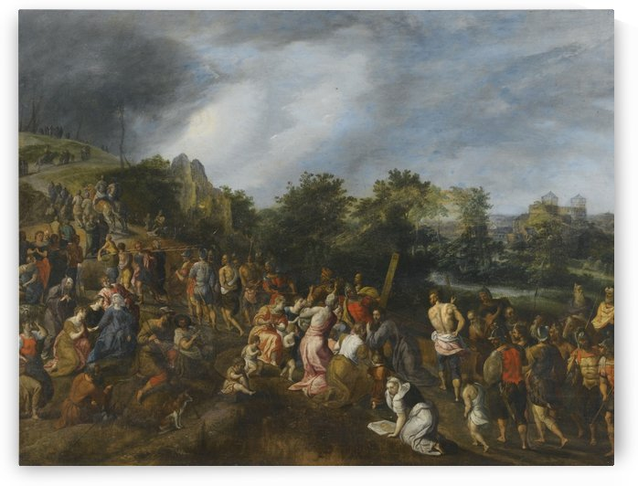Christ on the Road to Calvary by Pieter Brueghel the Elder