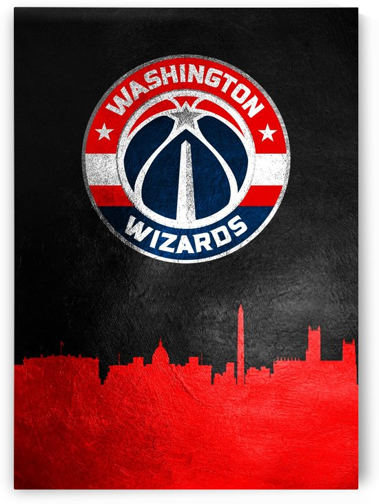 Washington Wizards Skyline by ABConcepts