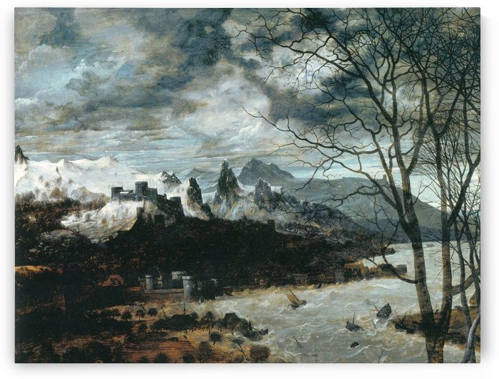 The Gloomy Day by Pieter Brueghel the Elder
