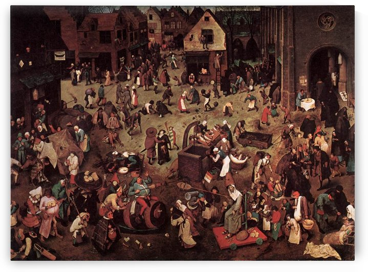 Village party by Pieter Brueghel the Elder