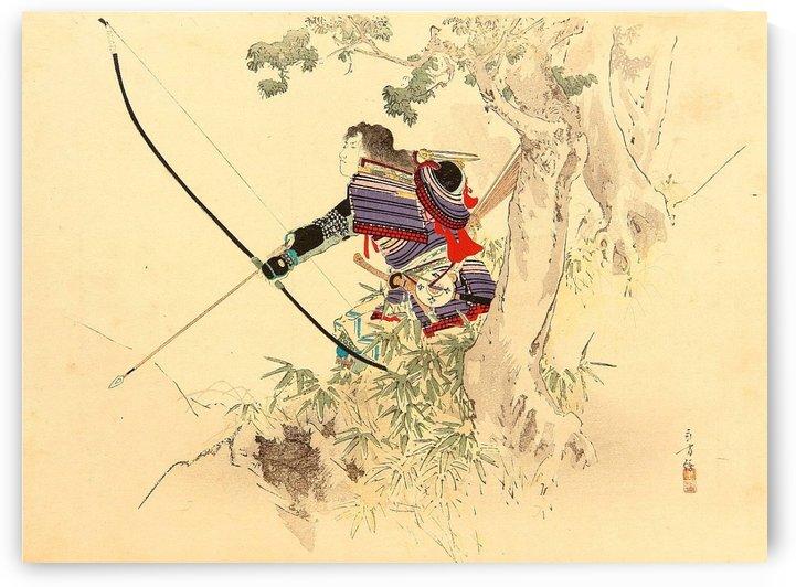 Samurai Archer by Mizuno Toshikata