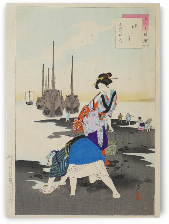 Women of the Bunka Era by Mizuno Toshikata