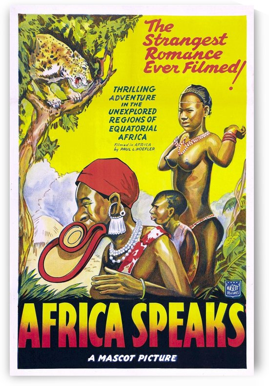 Africa Speaks 1930  by Culturio
