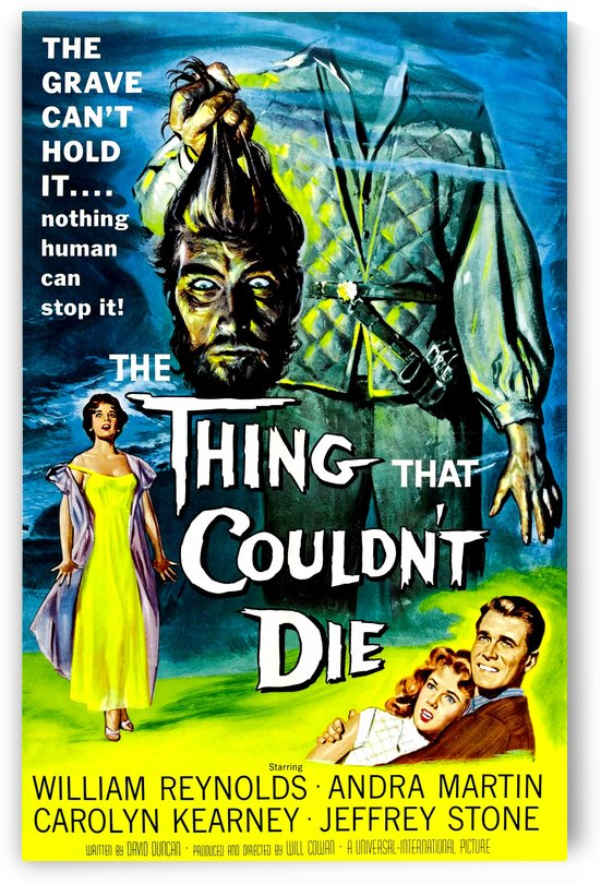 The Thing That Coulnt Die 1958 by Culturio