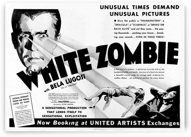 White Zombie 1932 Poster 2 by Culturio